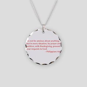 Philippians-4-6-opt-burg Necklace