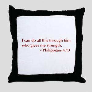 Phil-4-13-opt-burg Throw Pillow