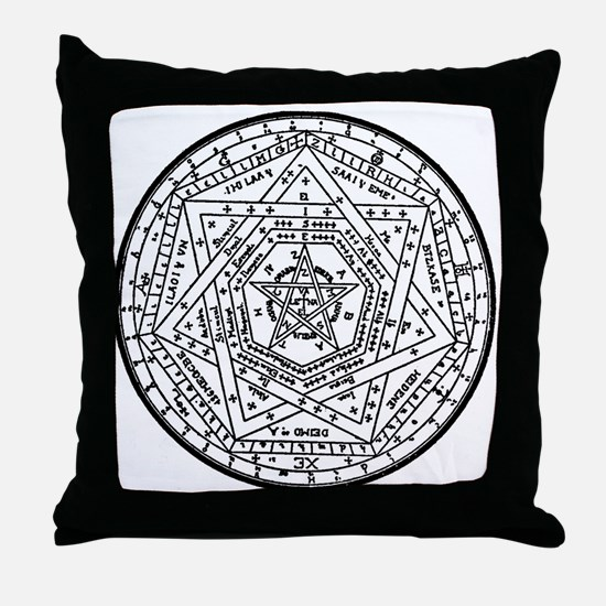 Sigillum Dei Aemeth Throw Pillow