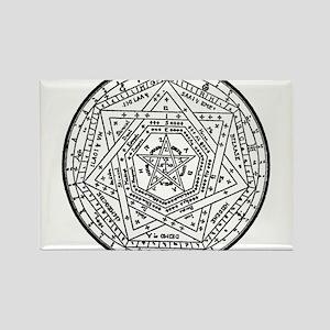 Sigillum Dei Aemeth Rectangle Magnet