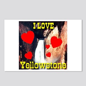 I Love Yellowstone Postcards (Package of 8)