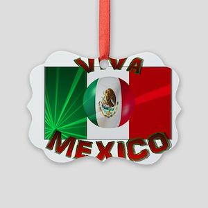 Mexico-flag3 Ornament