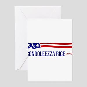 Condoleezza Rice 2016 Greeting Card