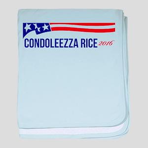 Condoleezza Rice 2016 baby blanket