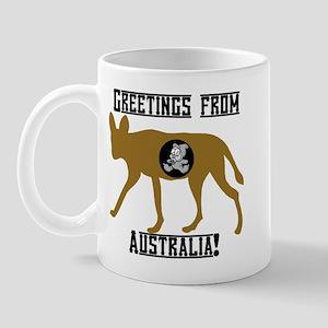 Greetings from Australia! Mug