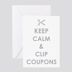 CLIP COUPONS Greeting Card