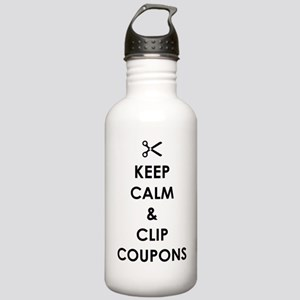 CLIP COUPONS Stainless Water Bottle 1.0L