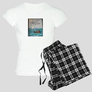 """ Optimism & Fishing "" / Sculpted Art Pajamas"