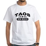 Taos New Mexico White T-Shirt