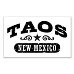 Taos New Mexico Sticker (Rectangle)