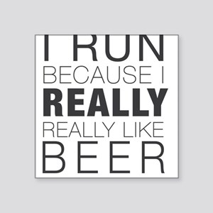 Run for Beer. Sticker