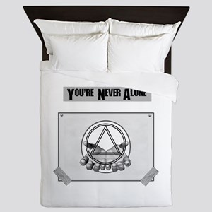 Youre Never Alone Queen Duvet