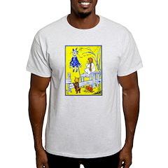 Meeting Scarecrow Ash Grey T-Shirt