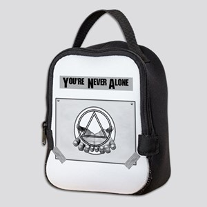 Youre Never Alone Neoprene Lunch Bag