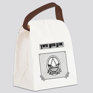 Youre Never Alone Canvas Lunch Bag