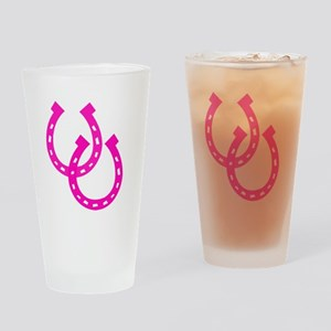 Horseshoe Drinking Glass