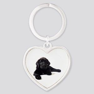 Labrador Retriever Heart Keychain