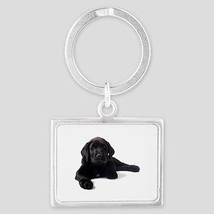 Labrador Retriever Landscape Keychain