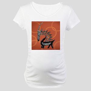 Ciwara Malian Antelope Maternity T-Shirt