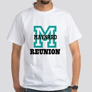 M Name Family Reunion White T-Shirt