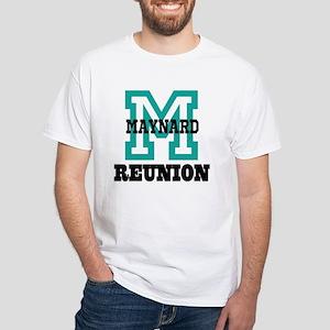 M Name Family Reunion White T-Shirt