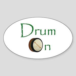 Bodhran - Drum On Sticker