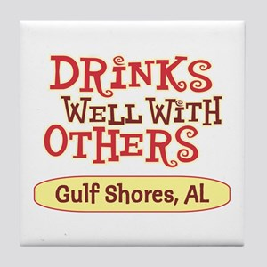 Gulf Shores - Drinks Well Tile Coaster