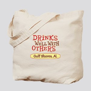 Gulf Shores - Drinks Well Tote Bag
