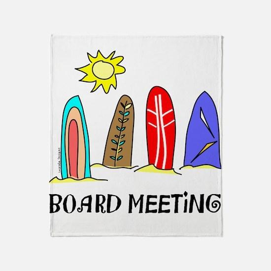 Surf Throw Blanket