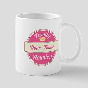 Personalized Family Reunion (pink) Mug