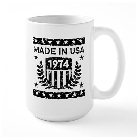 Made In USA 1974 Large Mug