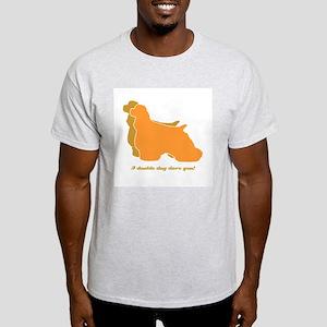 Cocker Spaniel Double Dog Light T-Shirt