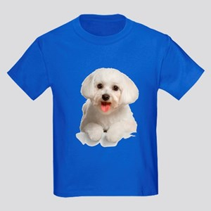 Bichon Frise Kids Dark T-Shirt