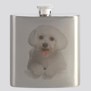 Bichon Frise Flask