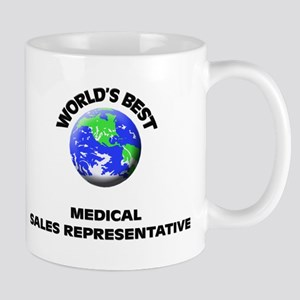 World's Best Medical Sales Representative Mug