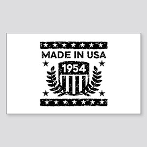 Made In USA 1954 Sticker (Rectangle)