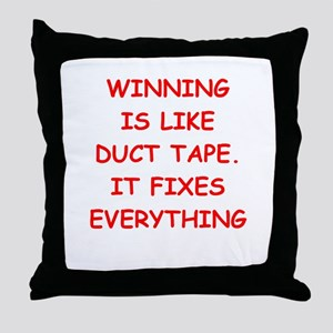 WINNING Throw Pillow