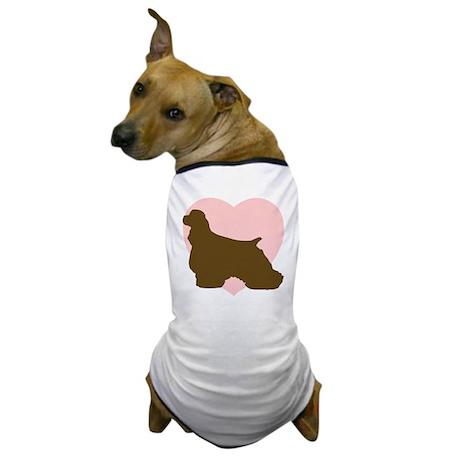 Cocker Spaniel Heart Dog T-Shirt