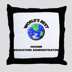World's Best Higher Education Administrator Throw