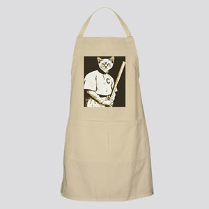 Baseball Cat Apron