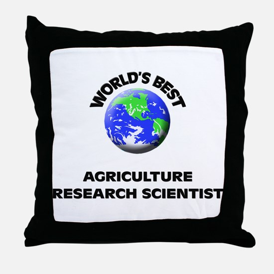 World's Best Agriculture Research Scientist Throw
