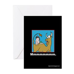 Ass-flavored Christmas Cards (6-pk)