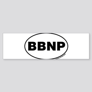 Big Bend National Park, BBNP Bumper Sticker