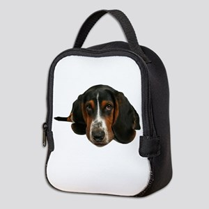 Basset Hound Neoprene Lunch Bag