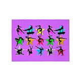 Gymnastic 5x7 Rugs