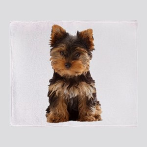 Yorkie Throw Blanket
