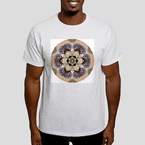 Groundhog Mandala Ash Grey T-Shirt