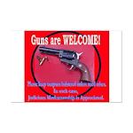 GunsWELCOME Mini Poster Print
