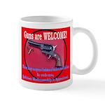 GunsWELCOME Mug