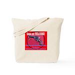 GunsWELCOME Tote Bag